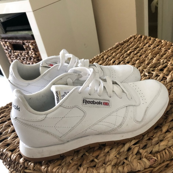 Reebok Shoes   Reebok Classic White Gum